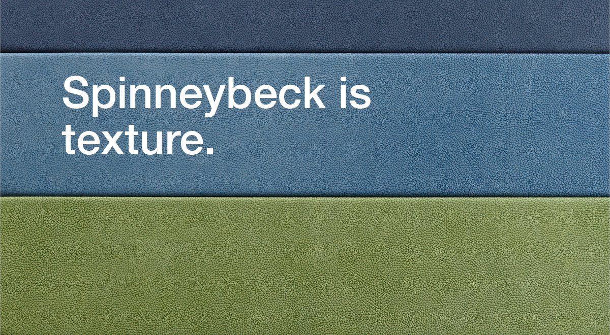 Spinneybeck is texture.