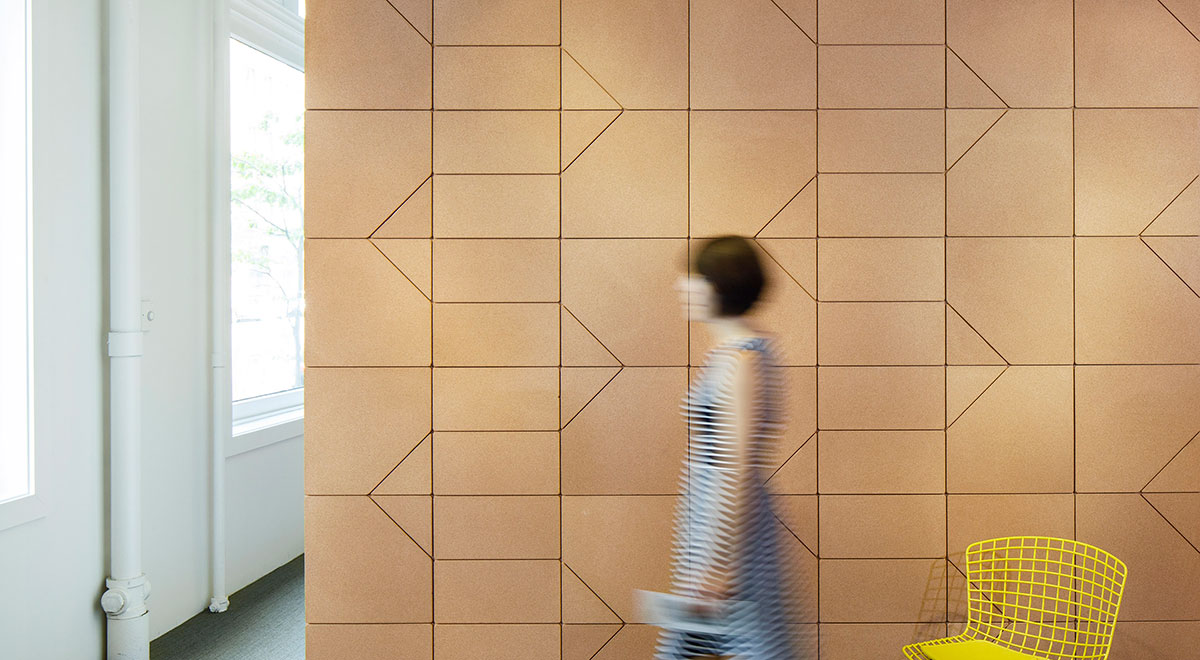 Introducing Beller Collection Cork Acoustic Tiles