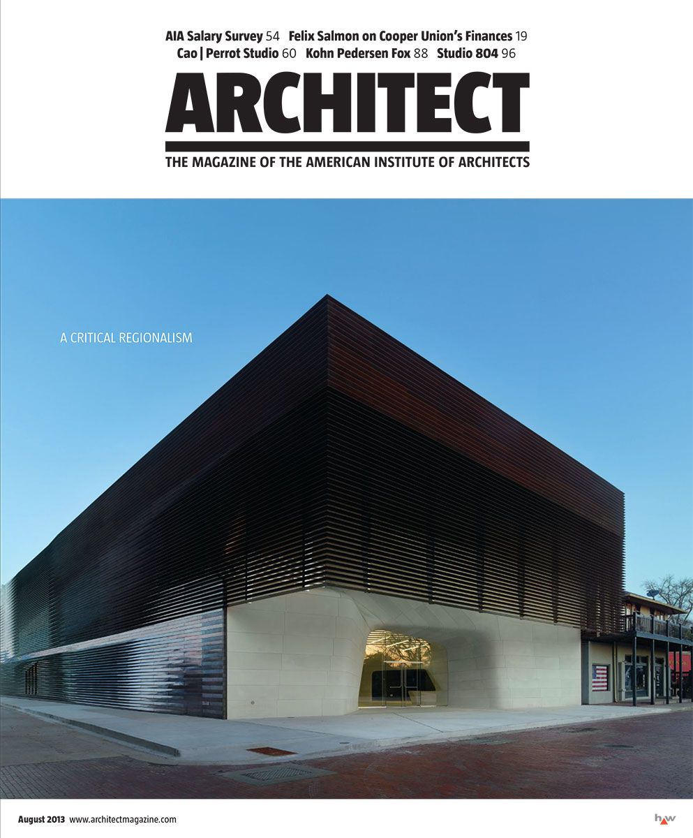 Architect, Aug 2013