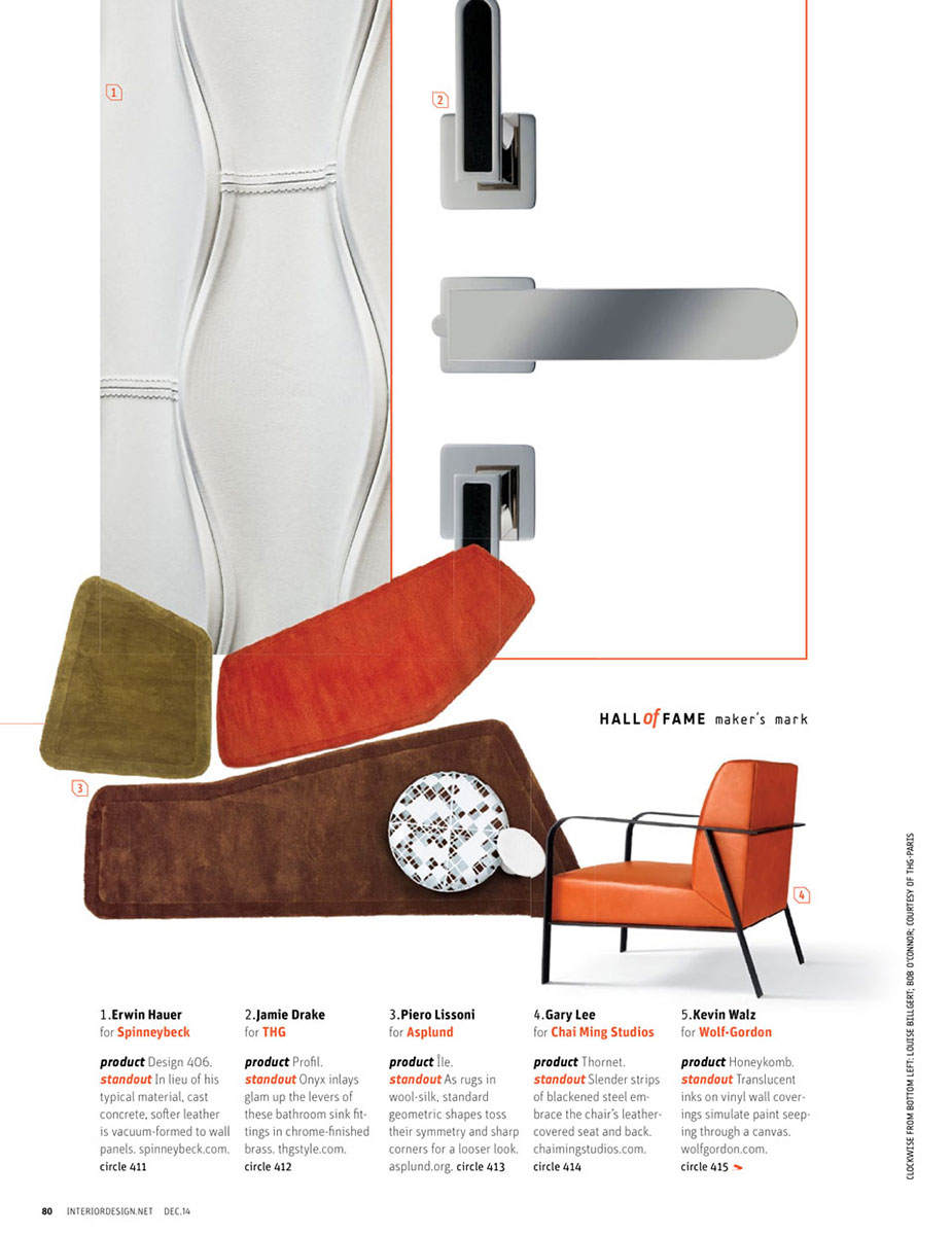 Interior Design, Dec 2014