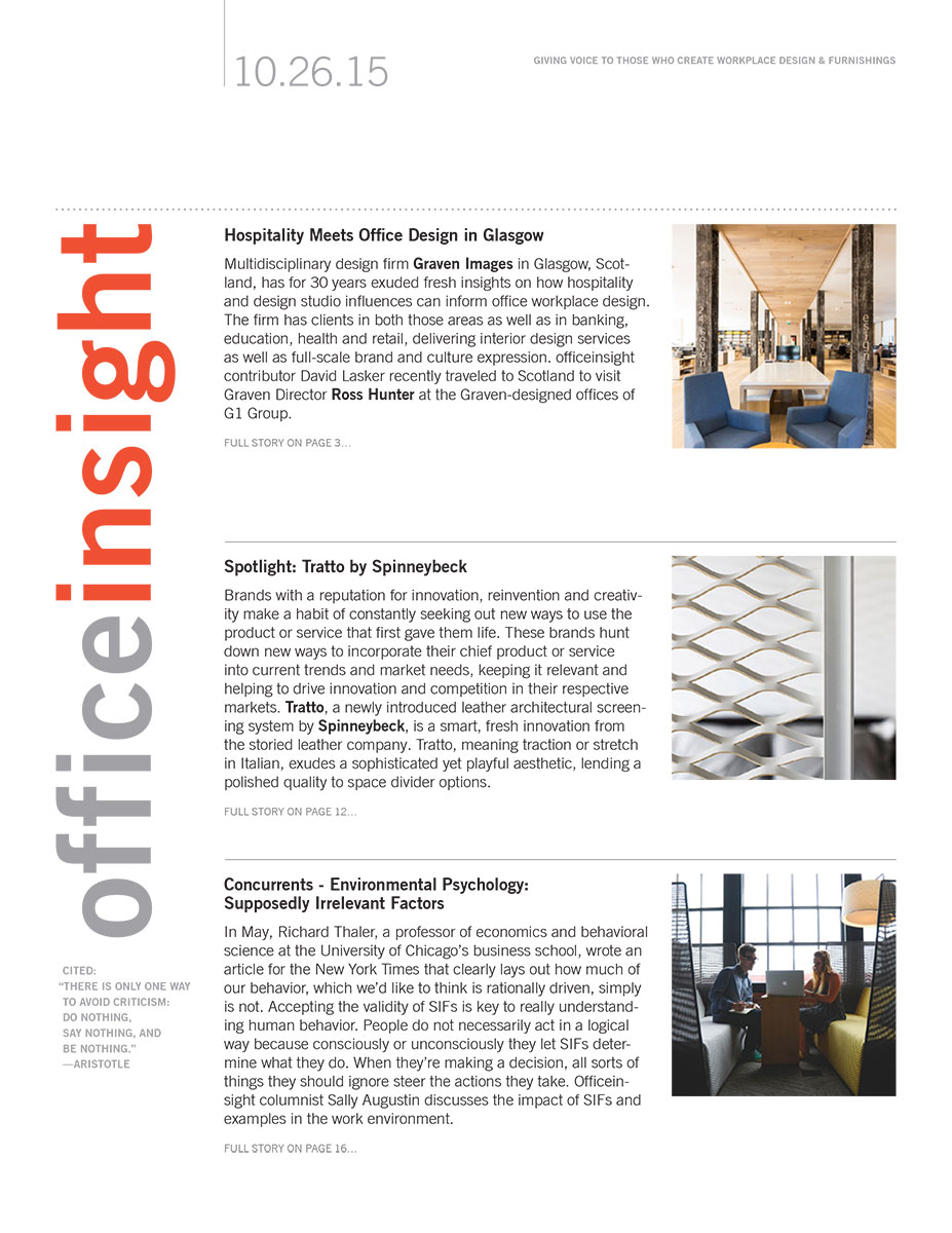 Officeinsight, Oct 2015