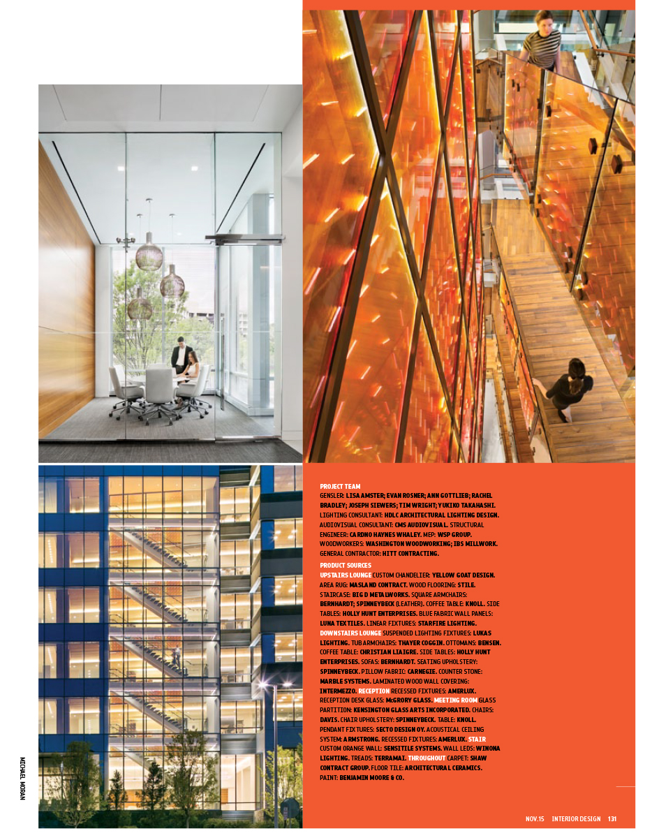 Interior Design, Nov 2015