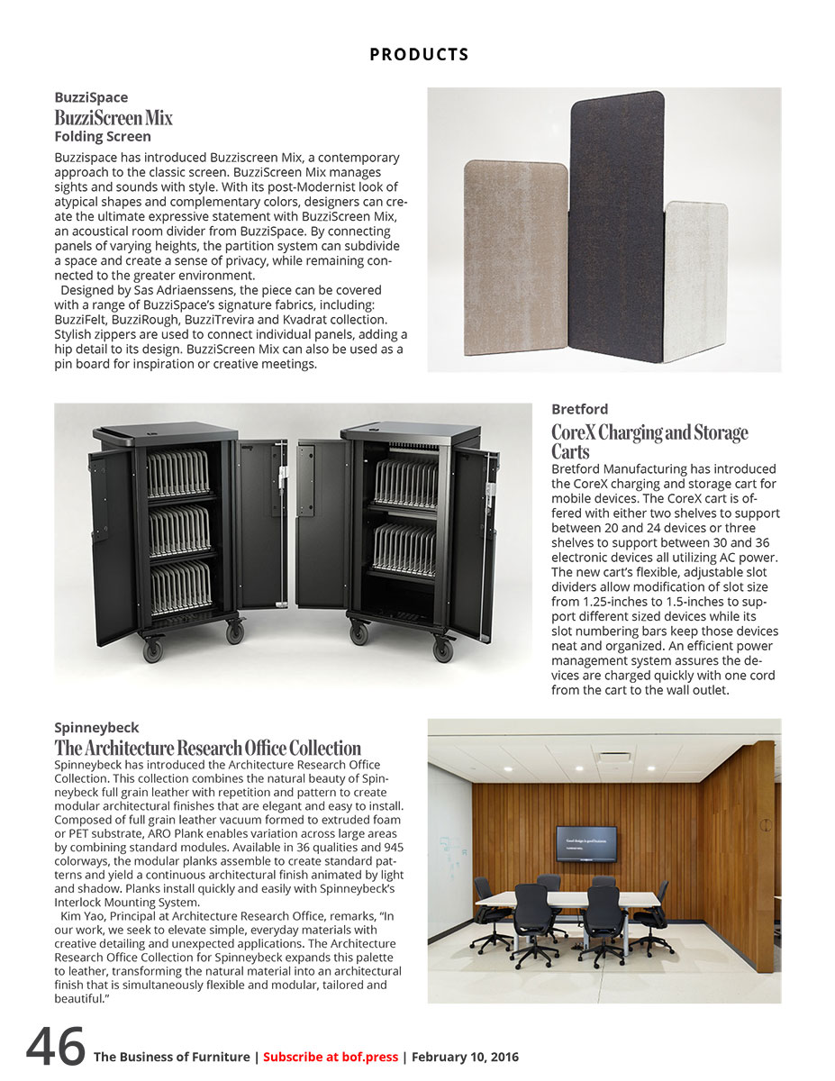 The Business of Furniture, Feb 2016